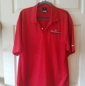 Nike / Budweiser Golf Shirt